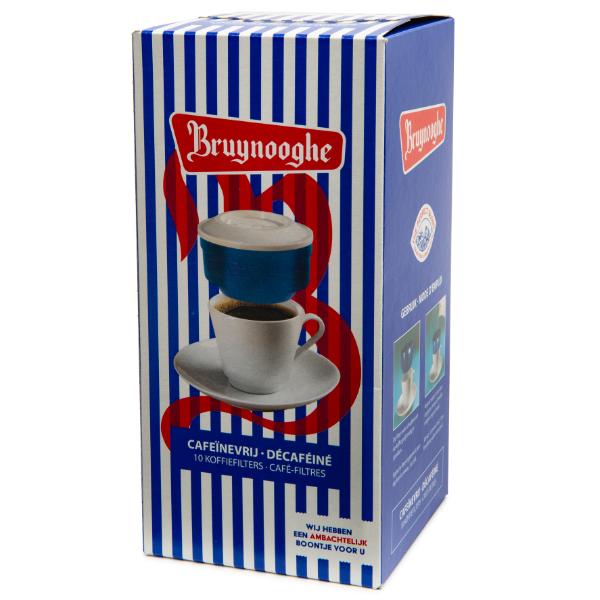 Café filtre Bruynooghe, Décaféiné