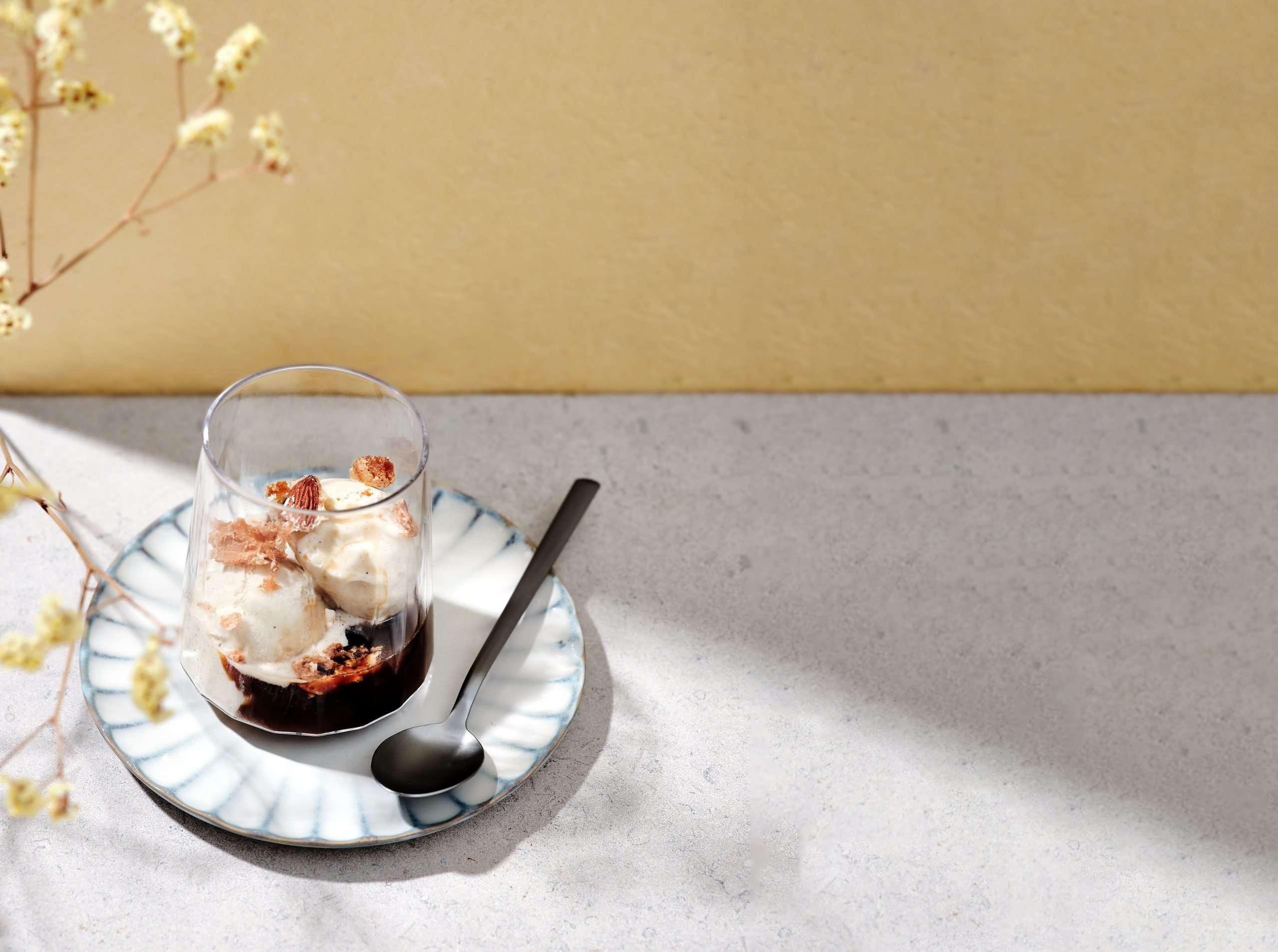 'Straffe' koffiedrankjes: Bruynooghe Affogato met amandel