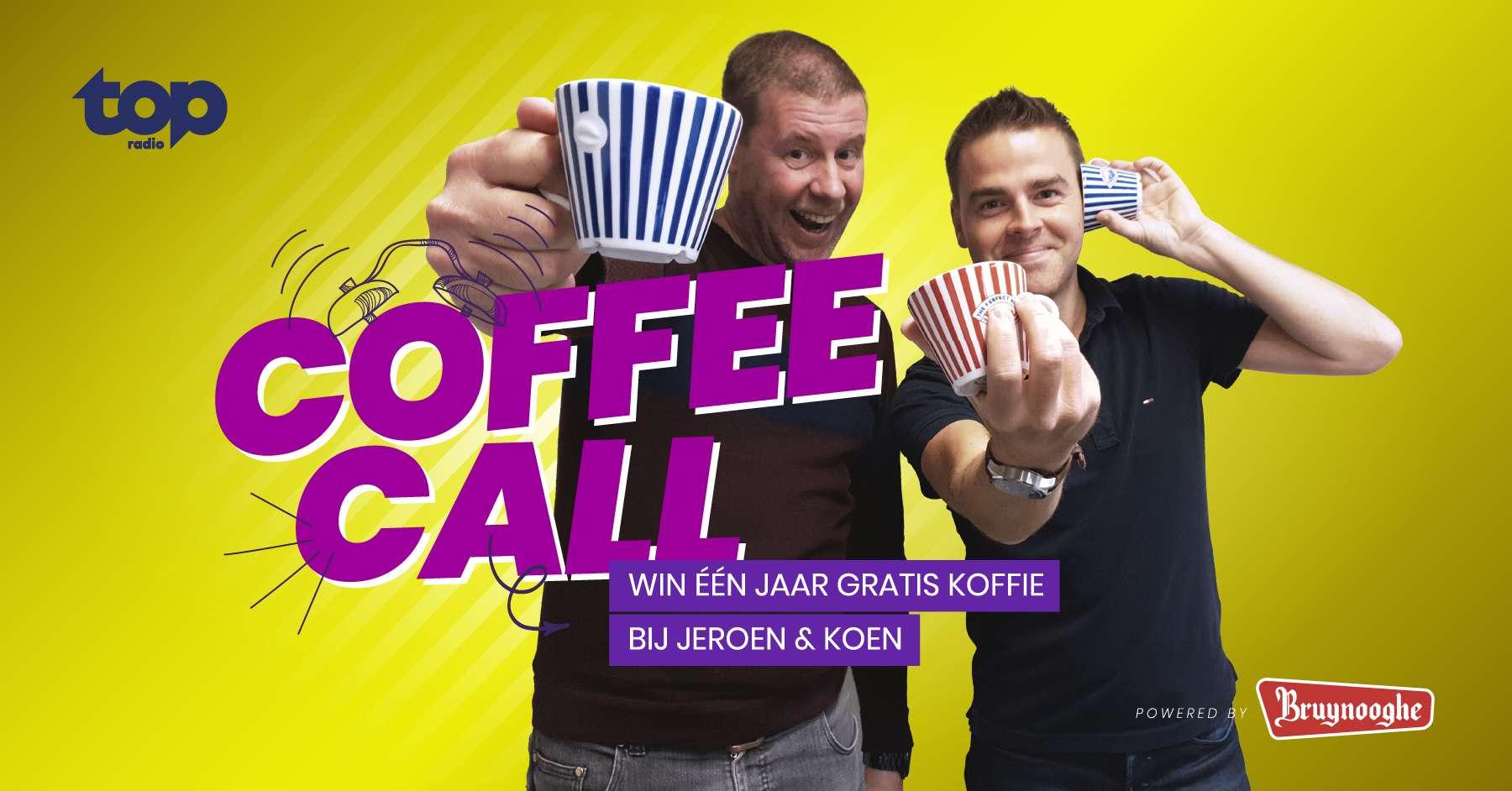 Win één jaar lang gratis Bruynooghe Koffie!